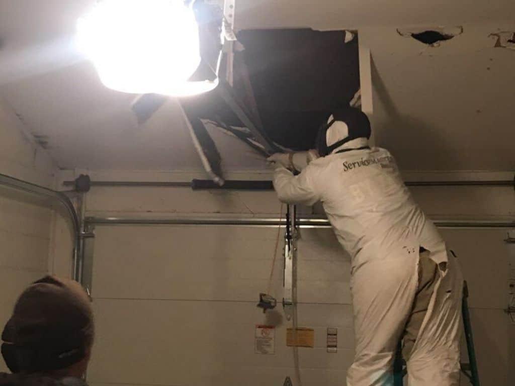 ceiling water damage repair expert