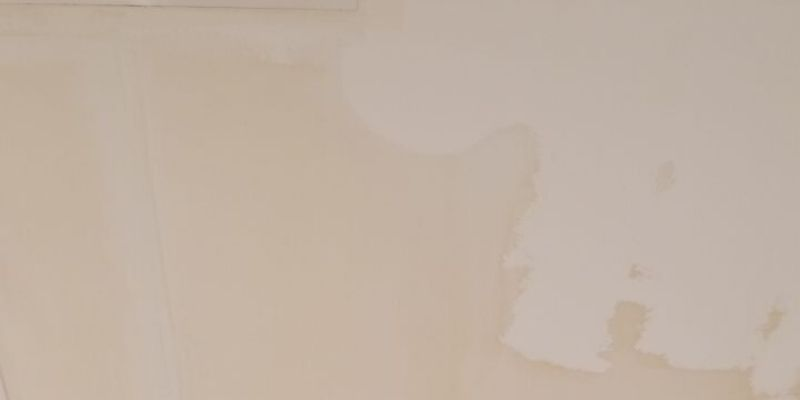 ceiling water damage stain chicago