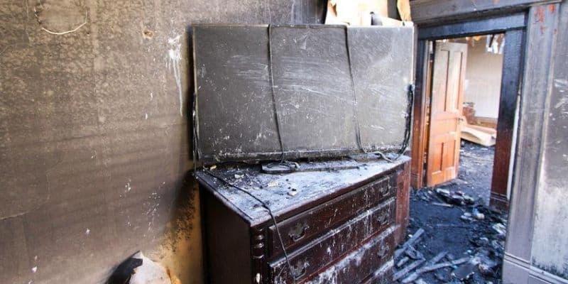tv fire damage chicago il