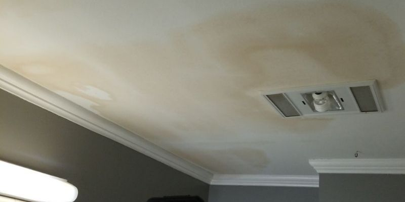 ceiling water damage chicago